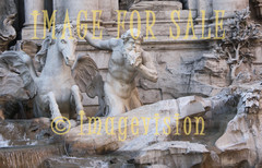 for sale merman and horse of trevi fountain