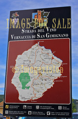 for sale san gimignano wine street map