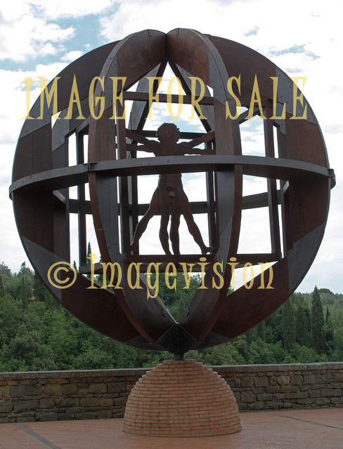 for sale vitruvian man monument