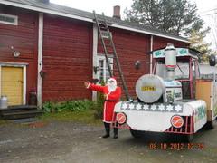 Joulupukin kyydillä Itämäkeen