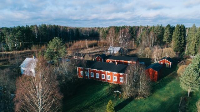 Ilmakuva talosta