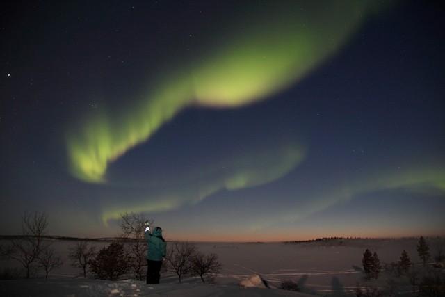 Northern Lights in Näätämö