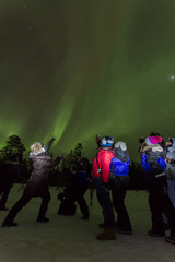 Northern Lights NewYearNight 2014