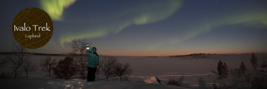 Ivalotrek northern lights and midnight sun inari lapland for Ice trek fish house