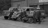 Jämsänkosken VPK:n kalusto vuonna 1954