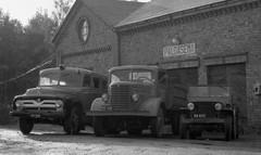 Jämsänkosken VPK:n kalusto vuonna 1955