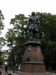 Pietari Suuren patsas Kronstadtissa