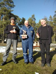 Timo(2), Markus(1), Mauri (3)