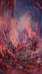 Highly sensitive - Erityisen herkkää - 2014 - Oil on canvas - 65x38 cm