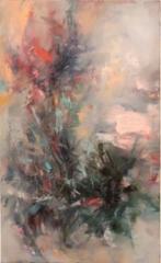 Secret garden - SOLD - 2019 - Oil on canvas - 90x56 cm
