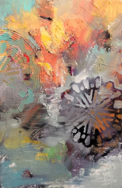 Wheel of thought - 2020 - Oil on canvas - 30x20 cm