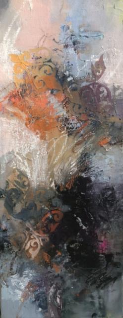 Escape - 2020 - Oil on canvas - 50x20 cm
