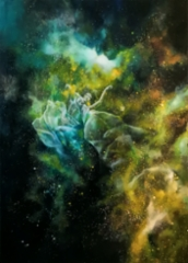 Reach for the stars - 2020 - Acrylic and oil on canvas - 140x100cm - SOLD