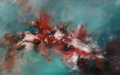 Unordinary love - 2020 - Acrylic and oil on canvas - 73x116cm
