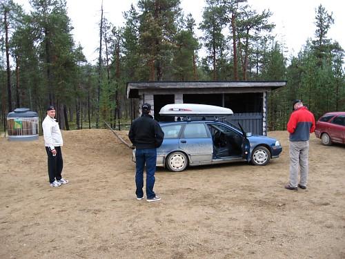 Aittajärven parkkipaikka
