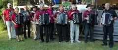 Auranmaan Riihiharmonikat kesätapahtumassa