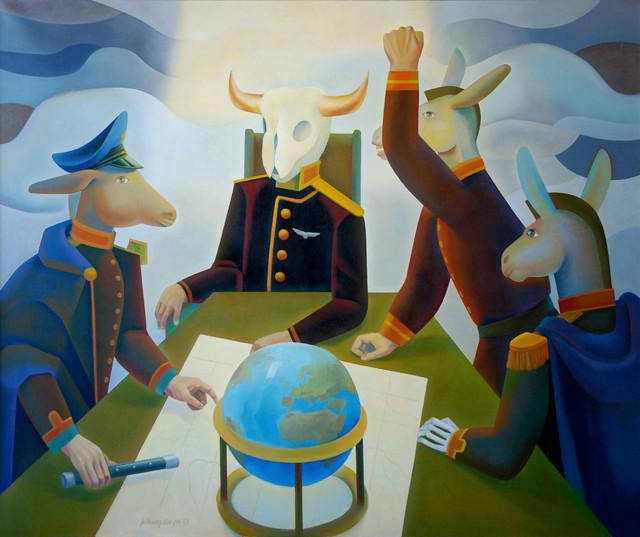 Everstien maailma