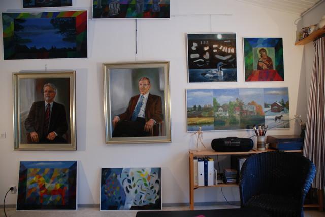 Muotokuvamaalarin ateljee