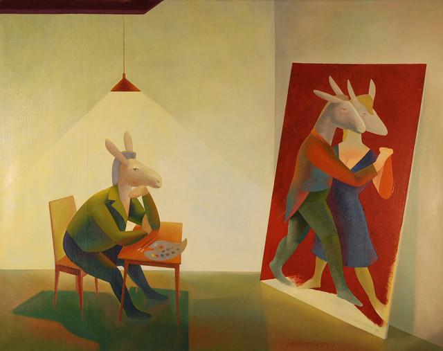 Nuori maalari