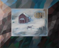 Sumuinen talvi / A Misty Farm