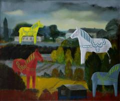 Kylän hevoset