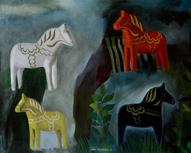 Punainen hevonen