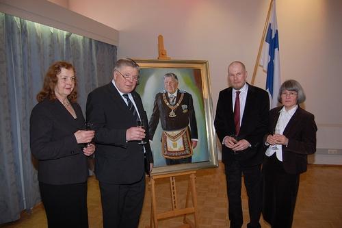 Portrait Unveiling