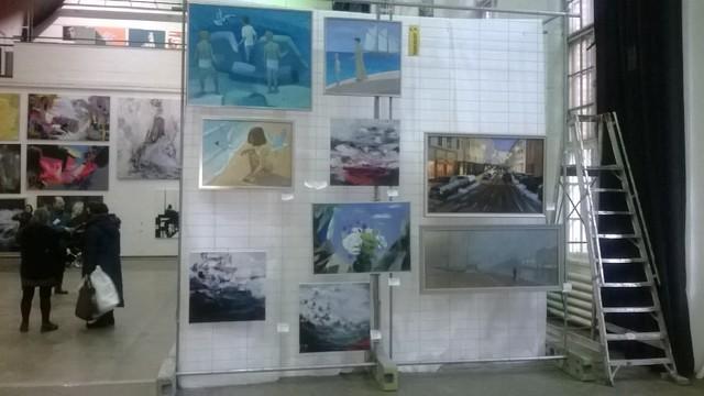Näyttely kaapelitehtaalla II
