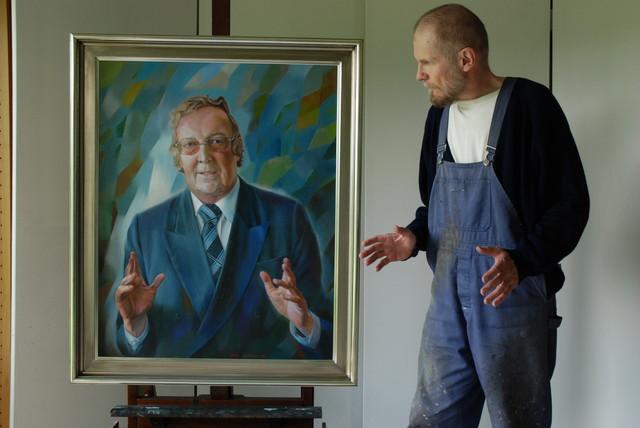 Taiteilija ja muotokuva