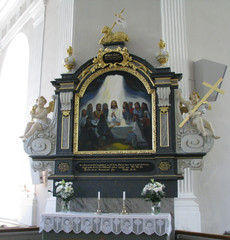 Peders�ren kirkon alttarimaalaus