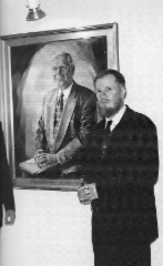 Kauppaneuvos Aulis Lindellin muotokuva