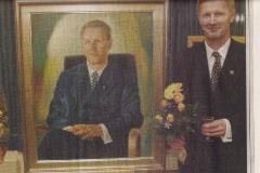 Vihdin kunnanjohtaja Arno Miettisen muotokuva