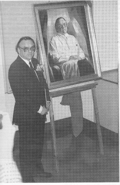 Ylilääkäri Ilmo Louhimon muotokuva