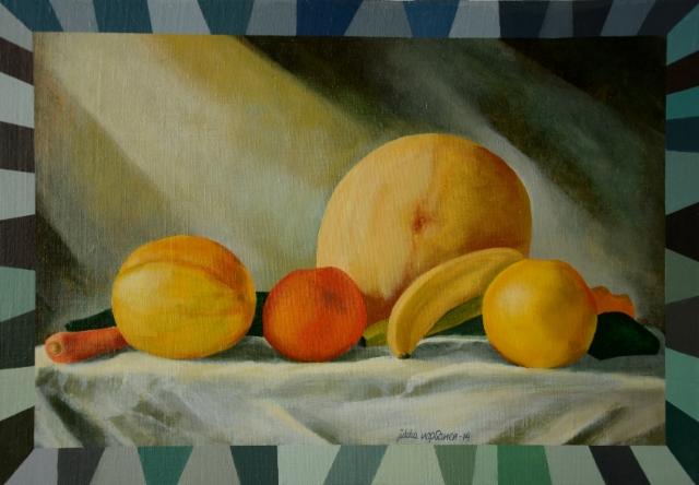 Hedelmäasetelma / Still Life with Fruit