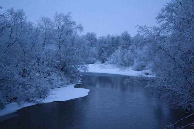 Kaamasjoki valmistautuu talveen