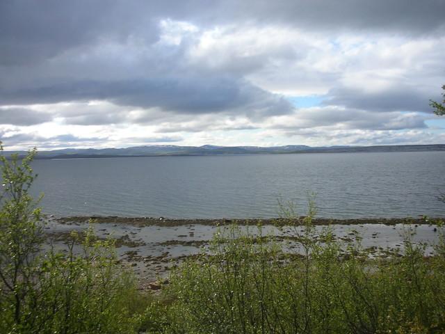 Jäämeren rantaa kesällä