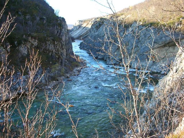 Silfar kanjoni Norjassa