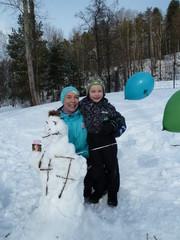 Vuoden paras lumiukko :)
