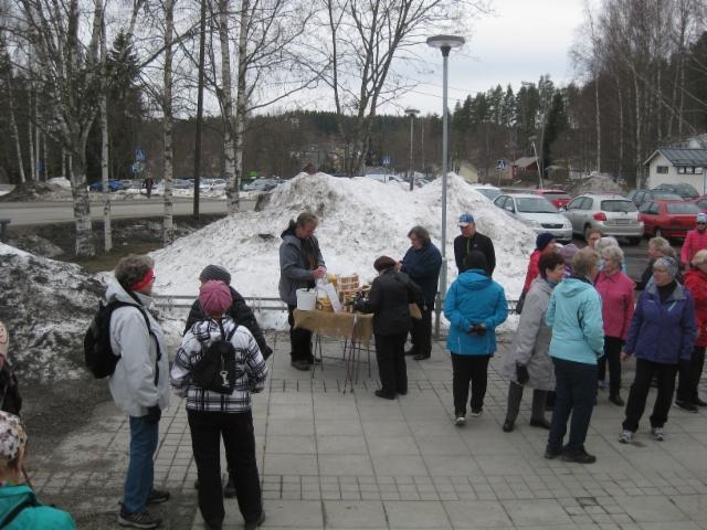 Hunajan ostajia