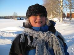 - 30 asteessa valjakkohiihtäjä Pirjo-mummo 2013