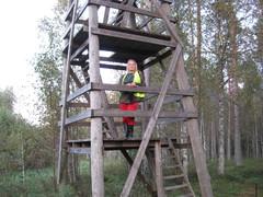Pirjo Lahnasjärvien reitillä 2013