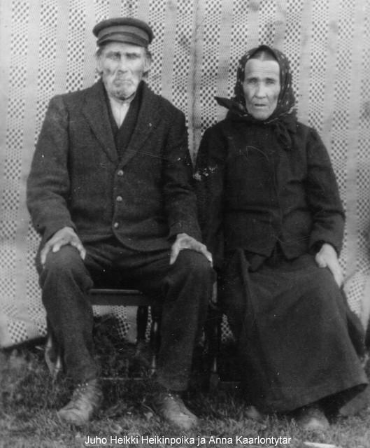 Juho Heikki ja Anna Kaarlontytär