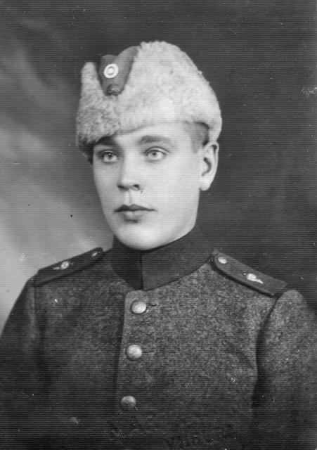 Heikki sotilaana
