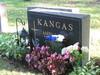 Sampan ja Allin hauta kukitettuna