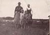 Kalle ja Elma perheineen 1930-luvun alussa