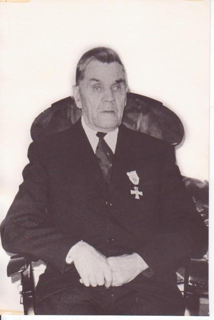 Kallen vapaussodan Sininen risti vuonna 1968