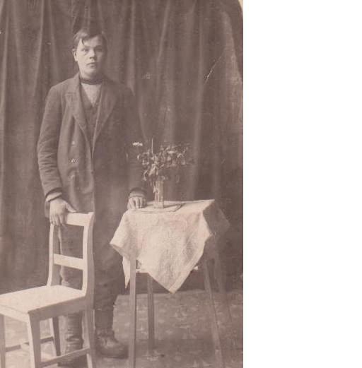 Kallen passikuva Amerikkaan lähtöä varten v. 1917