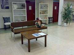 No hei täällä Käpykylässä voi myös vain istuskella ja miettiä mitä seuraavaksi tekisi.
