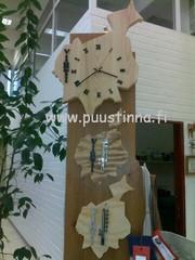 Puustinnassa myynnissä: vihti kello tai -lampomittari