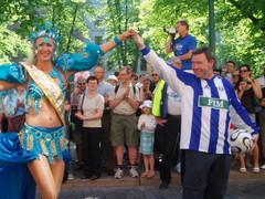 Samba karnevaalit Helsingissä 17.6.2006